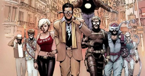 Mark Millar Hypes Supercrooks Anime For All to See