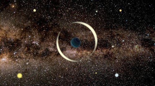 Rogue Planet Spotted Floating Through Galaxy Without A Host Star