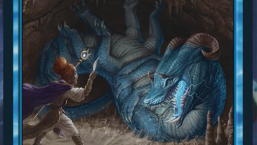 Magic: The Gathering Shows Off Two New Dungeons & Dragons Cards