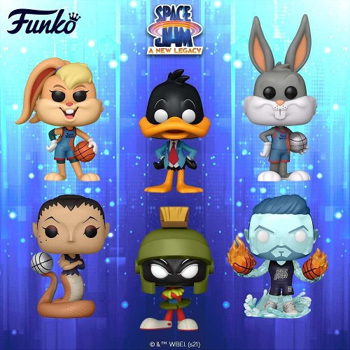 Space Jam: A New Legacy Drops a Huge Wave of Funko Pops With Exclusives