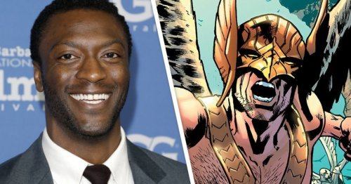 Black Adam: Hawkman Actor Aldis Hodge Reveals New Photo of First Day Filming