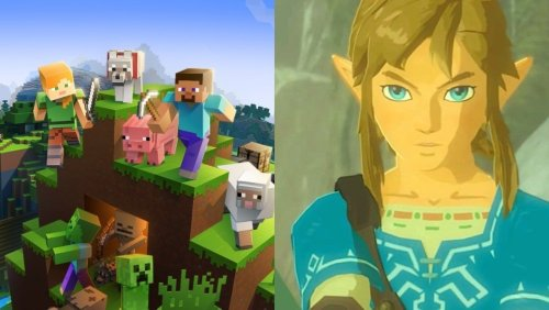 Minecraft Player Attempts to Build The Legend of Zelda: Breath of the Wild World