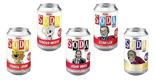 New Funko Soda: John Wick, Stan Lee, Danger Mouse and More