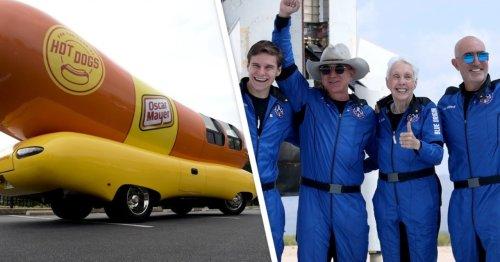 Oscar Mayer Roasts Jeff Bezos' Blue Origin Rocket