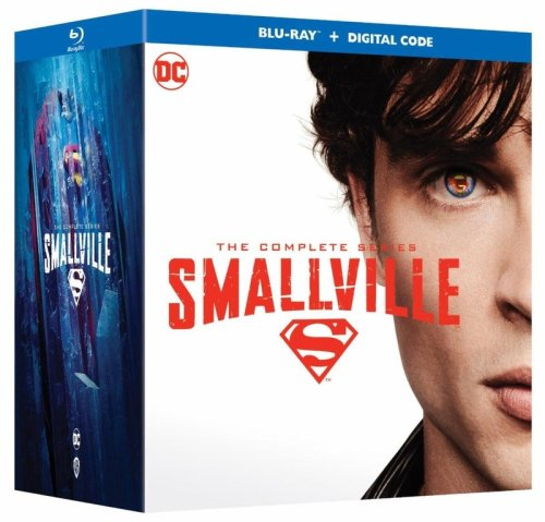 Smallville: The Complete Series 20th Anniversary Edition First Ever Blu-Ray Release Announced
