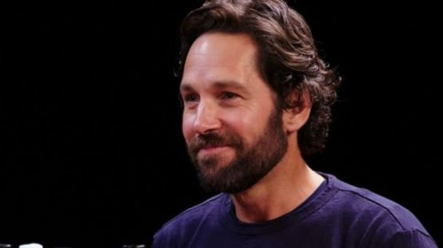 Paul Rudd Sports Gray Hair For New Role