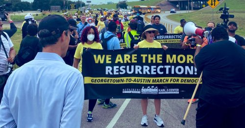 In Texas, Poor People's Campaign Kicks Off 27-Mile 'March for Democracy'