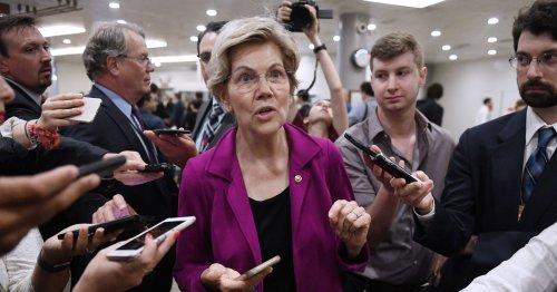 Opposing His Renomination, Warren Calls Fed Chair Powell 'A Dangerous Man'