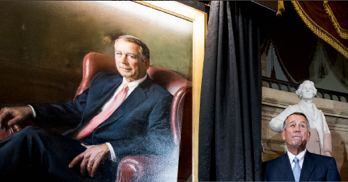 John Boehner: The Man of the House Never Did Man Up