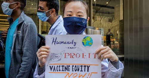 Suspending Vaccine Patents Is the Leadership the World Needs to End This Pandemic