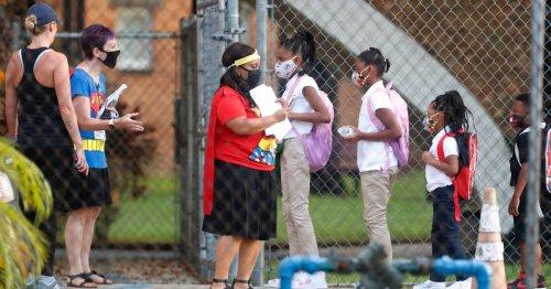 Despite Funding Threat, Florida Schools Defy DeSantis's Ban on Mask Mandates