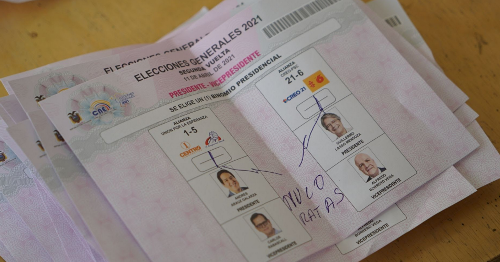 """The Dirty Campaign Underlying Ecuador's """"Free and Fair"""" Election"""