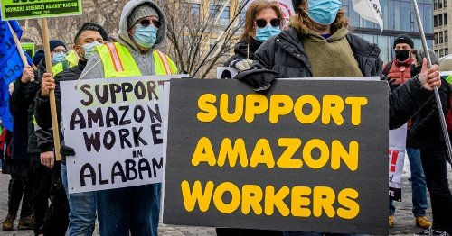 Union Files 23 Objections Against Amazon for Illegal and 'Despicable' Conduct in Bessemer Election