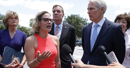 As Bipartisan Infrastructure Deal Reached, Sinema Comes Out Against $3.5 Trillion Package