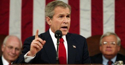George W. Bush Should Shut Up and Go Away
