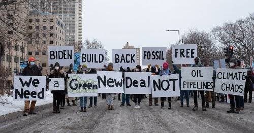 Climate Groups Warn Reported Biden Plan to Cut Emissions in Half by 2030 'Not Good Enough'