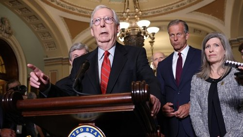 McConnell Makes Clear 'All Republicans Will Oppose' Manchin Voting Rights Compromise