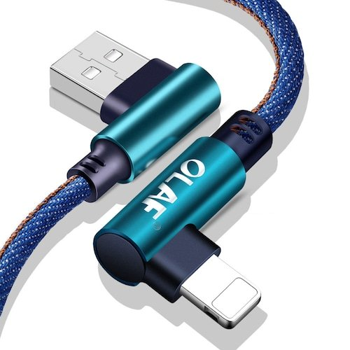 Offerta Lampo! OLAF 5V 2.4A USB Tipo C Micro IOS Cavo di ricarica USB a 90 gradi per ricarica rapida per iPhone Samsung Xiaomi 0,83 - Comparatech