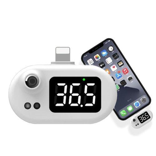 Offerta Lampo! Non-contatto Tipo USB Termometro Intelligente per iphone 12 pro max / 11 / X 10,08