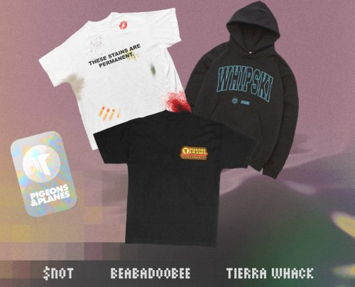 Pigeons & Planes Links With Tierra Whack, Beabadoobee, and $NOT for ComplexLand Merch Drops