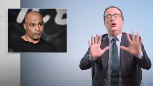 John Oliver Urges Everyone to 'Stop Listening' to Joe Rogan and Get Vaccinated