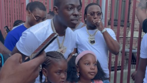Bobby Shmurda Gives Underprivileged Families Free Meals and Haircuts on Father's Day