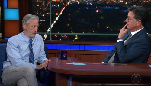 Jon Stewart Criticized for Wuhan Lab Theory Comments on 'Late Show'