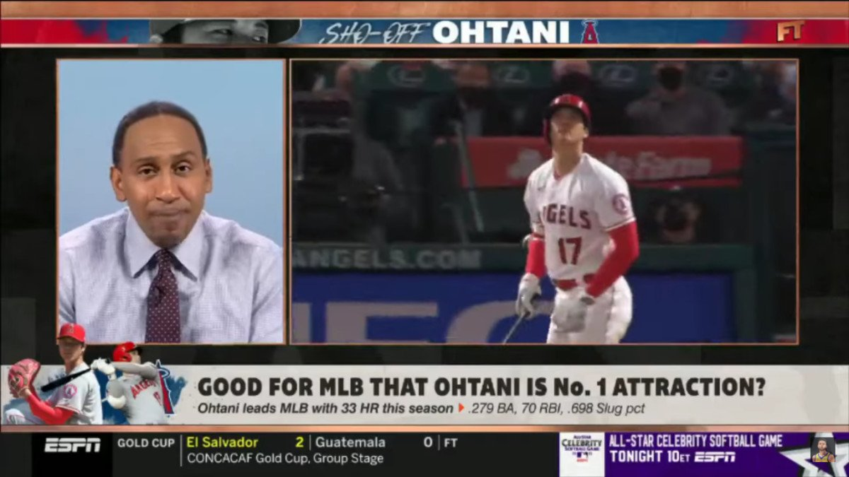 Stephen A. Smith Faces Backlash for Claiming Shohei Ohtani's Need for an Interpreter Harms Baseball