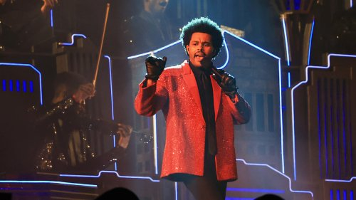 Watch The Weeknd's Full Super Bowl LV Halftime Performance