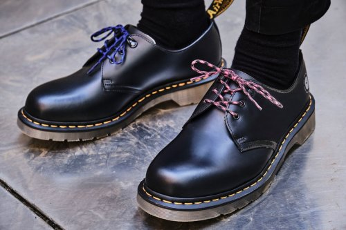 Dr Martens' Link Up With atmos for Newly-Reworked 1461 and Tech Boot Collab