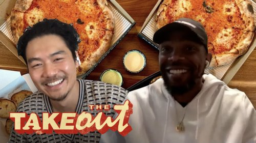Udonis Haslem Breaks Down the Keys to Miami Over Pizza and Wings | The Takeout