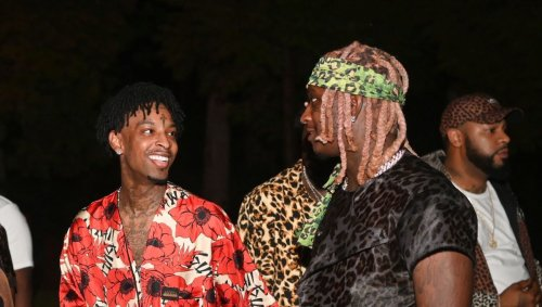 Young Thug Surprises 21 Savage With Custom Truck Worth $150K for His Birthday