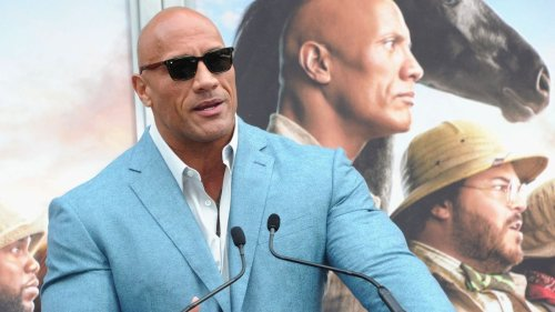 Dwayne Johnson Says People Thought He Was a Girl as a Child