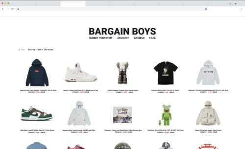 Bargain Boys is The Streetwear Auction Platform You Need to Know