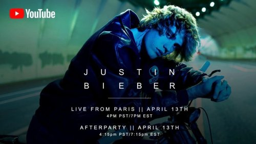 Livestream Justin Bieber's 'Live From Paris' Concert Special