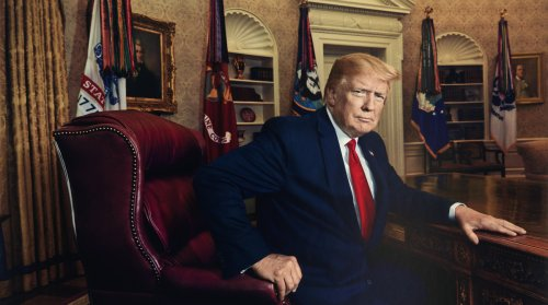 Trump's Presidential Portrait Still in the Works at Smithsonian