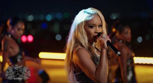 """Watch Saweetie Perform """"Fast (Motion)"""" on 'Jimmy Kimmel Live'"""