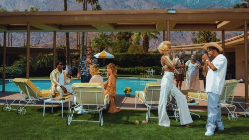 Here's a Look at Jay-Z's Monogram Cannabis Campaign Inspired by Slim Aarons