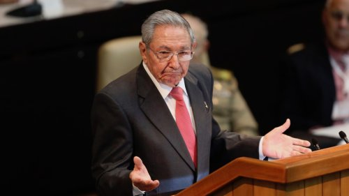 Raul Castro Says He's Stepping Down as Head of Cuba's Communist Party