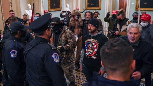 QAnon Capitol Rioter Wants to Be Released From Jail, Blames 'Pack of Lies' for His Involvement