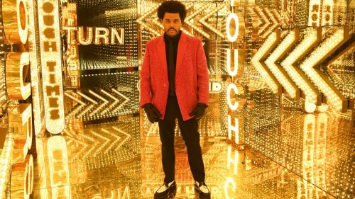The Weeknd's Super Bowl Halftime Show Outfit Was Designed by Givenchy's Matthew M. Williams