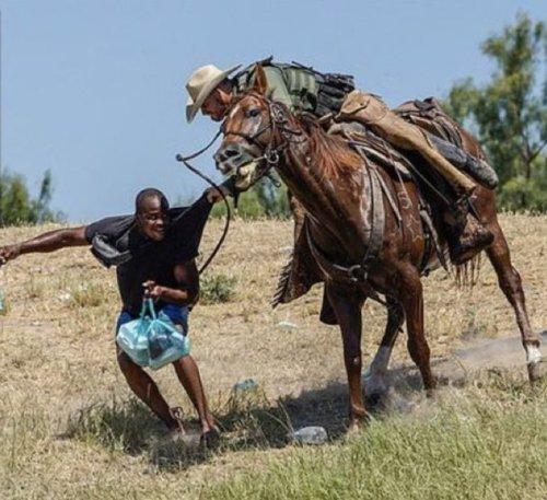 White House Addresses 'Horrific' Photo Showing Border Patrol Agent Using Whip on Haitian Migrants
