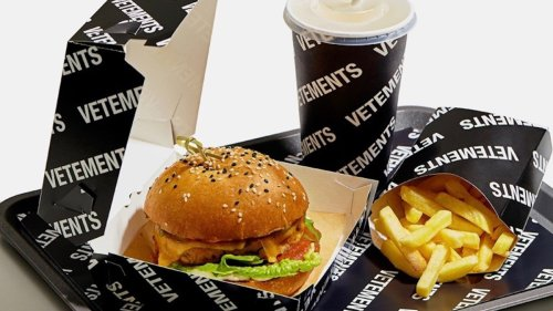 Vetements Rolls Out Its Own Vegetarian Burger