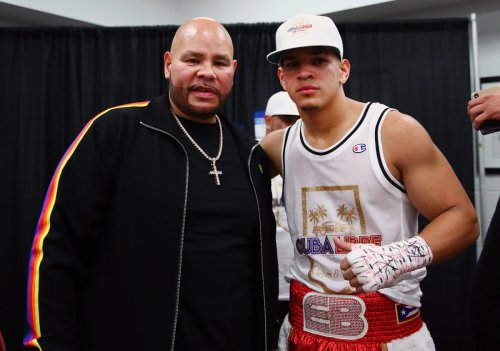 With Fat Joe in His Corner, Knockout Sensation Edgar Berlanga is Chasing Boxing History