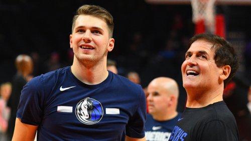 Mark Cuban Calls Report of Luka Doncic Rift With Mavericks Front Office 'Total Bullsh*t'