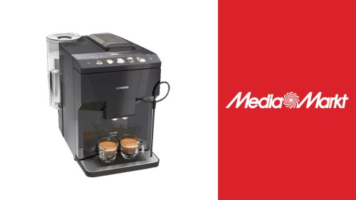 Kaffeegenuss mit Media Markt: Siemens-Kaffeevollautomat aktuell zum Top-Preis