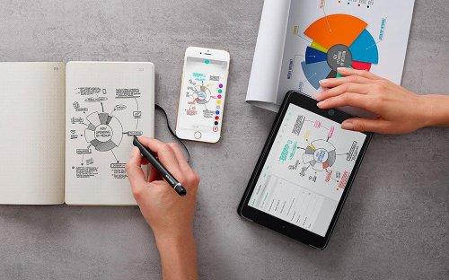 Estos cuadernos inteligentes se pueden reutilizar y te ahorrarán mucho dinero en papel