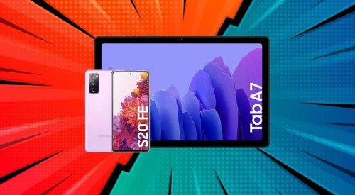 El potente Samsung Galaxy S20 FE 5G está en oferta... ¡y con la tablet Galaxy TAB A7 de regalo!