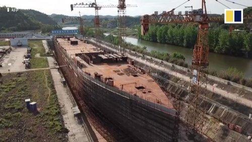 China está construyendo una réplica tamaño real del Titanic que es una auténtica locura