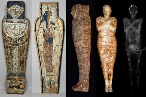 Esta momia esconde un secreto en su interior que nunca antes se había visto